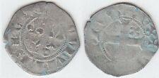 PHILIPPE IV Le Bel (1285-1314) Double  Tournois  en billon Exemplaire N° 3
