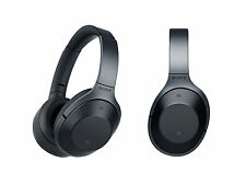 Sony MDR1000X Premium Noise Cancelling, Bluetooth Headphones - Black