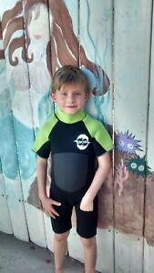 YOUTH CHILDREN KIDS 3MM wetsuit shorty surf scuba snorkel by ISOSI