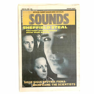 Sounds 10 August 1985 - Phil Oakey,The Cabs,Sigue Sigue Sputnik,Mainframe,The Sc
