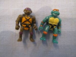 MICRO Teenage Mutant Ninja Turtles Mini Movie MICHELANGELO & DONATELLO  TMNT