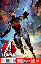 AVENGERS WORLD #2 - Marvel Now! - Back Issue