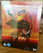 Disney THE LION KING BluRay UK Exclusive Limited STEELBOOK w/ Lenticular Magnet