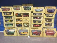 Matchbox Models Of yesteryear, (9) 25 Models In Straw Boxes, job Lot, Lesney,moy