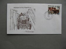 NIGER, cover FDC 1981, car-racing George Boillot