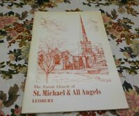 ST MICHAEL & ALL ANGELS LEDBURY  (VINTAGE GUIDE BOOK) 1970 PARISH CHURCH