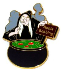 Rare Le 500 Disney Pin✿Villain Evil Queen Old Hag Witch Apple Bobbing Halloween
