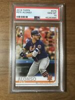 2019 Topps Series 2 Pete Alonso RC Rookie Card PSA 10 Gem Mint #475 Mets INVEST