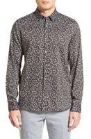 * NWT Ted Baker London, 'Waytogo' Modern Trim Fit Paisley Sport Shirt 2XL XXL