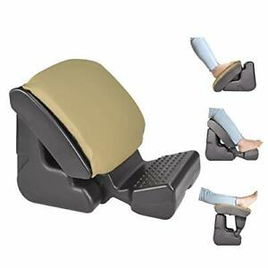 Ergonomic Footrest Foldable Ottomans Angle Height Adjustable Stool with 3