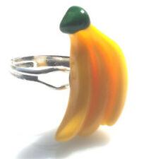 GORGEOUS HANDMADE BUNCH OF BANANA RING + FREE GIFT BAG
