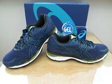 Asics Gel-ziruss 2 para Hombre Azul Negro curso Correr Zapatillas Size UK 8.5 euro 43.5