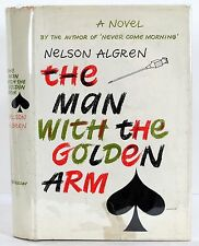 1949 THE MAN WITH THE GOLDEN ARM NELSON ALGREN HARDCOVER w/JACKET FIRST EDITION