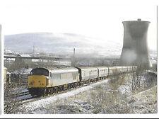 Peak Class 45127 Leaving Stalybridge to Cross The Pennines, 1984 PPC, Unposted