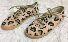 Anthropologie Startas Leopard Shoes Sneakers Handmade Novelty US 5 36 New