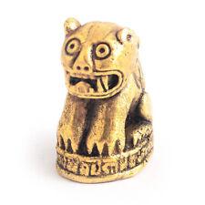 Vietguild's Thai Powerful Tiger Bronze Figurine Statue Amulet