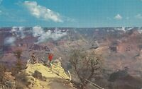 Chrome Postcard A628 Grand Canyon National Park AZ 1960 Birds Eye View Harvey