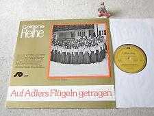 AUF ADLERS FLÜGELN GETRAGEN LP SCHULTE + GERTH GOLDENE REIHE 2359, WILFRIED MANN