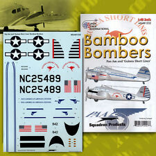 Cessna AT-17 Bamboo Bombers, Pt 2: Pan Am (1/48 decals, Superscale 481232)