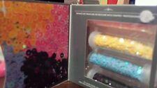 Cinapro nail creation glamquins prof nail art Kit Blue Yellow Black Pink ShipNow