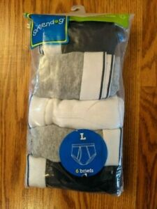 New Greendog Boy Briefs Underwear (5 Pack) Size L (14-16)