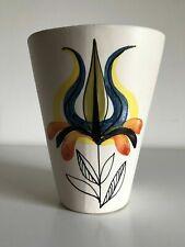 """Raro vaso """"Diabolo"""" ceramica ROGER CAPRON Vallauris GL anni 50 altezza 15 cm"""