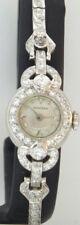 Vintage Ladies Concord 14k White Gold & Diamonds Watch