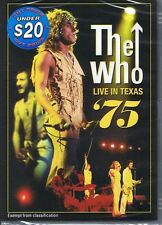 THE WHO Live in Texas '75 Pinball Wizard NEW/SEALED Free Post