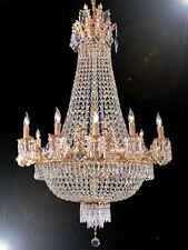 French Empire Crystal Chandelier Chandeliers H40