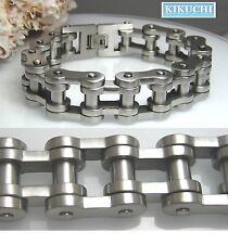 Edelstahl Armband XL Herren Bike Biker Kette 19,5mm/ 23cm/ 149g MASSIV Männer