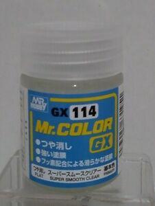 Gunze Sangyo Mr Color GX-114, Super Smooth Clear.