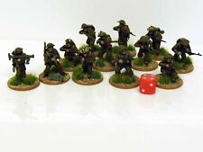 28mm Bolt Action Chain Of Command British Infantry Painted & Based 12 Figures R2