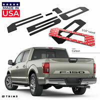 BDTrimsPiano Black Tailgate Letters for Ford FLEX 2013-UP ABS Plastic Inserts