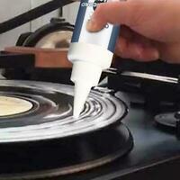 Vinyl Schallplatten-Reinigungsset Vinyl-Reinigungsset Phonograph Reiniger W8S6