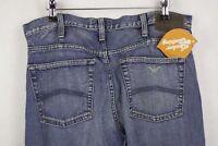 SHABBY VINTAGE Mens ARMANI Jeans STRAIGHT Fit INDIGO 008 SERIES W32 L34 P75