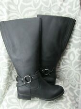 New in box Life Stride X-Felicity Black WC Tall Riding Boots Size 8.5 Wide Calf
