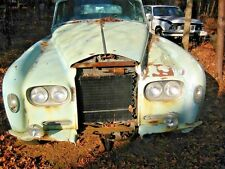 1963 CLOUD PROJECT! 12 BIG PIC`S PARTING CAR, ROLLS ROYCE BENTLEY S3 PULL HANDLE