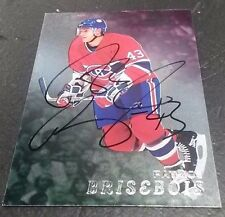 1998-99 ITG BE A PLAYER PATRICE BRISEBOIS ON CARD AUTO