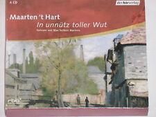 Maarten 't Hart & Max V. Martens -In unnütz toller Wut: Autorisierte..- 4xCD BOX