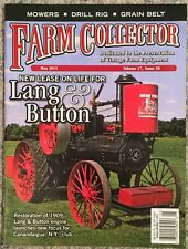 Farm Collector New Lease On Life For Lang & Button May 2015 FREE SHIPPING!