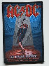 AC/DC-Let There Be Rock-Patch 10 x 6,8 cm - 163987