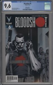BLOODSHOT #6 - CGC 9.6 - TREVOR HAIRSINE VARIANT - 3739186014