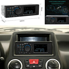 Car Stereo Audio MP3 Radio Player Bluetooth FM Aux Input Receiver USB W/Remote
