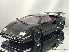 GT Spirit Koenig Countach Special Lamborghini 5000 S Turbo Black 1/18