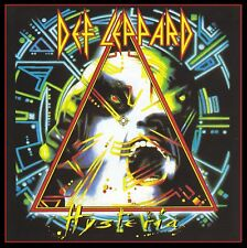 DEF LEPPARD - HYSTERIA CD ~ ROCKET~POUR SOME SUGAR ON ME~LOVE BITES +++ *NEW*
