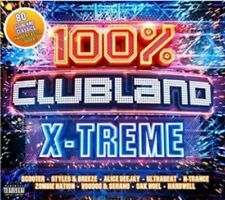 100% Clubland X-Treme - New 4CD Album - Pre Order 23rd March
