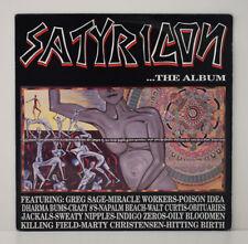 Rare ! SATYRICON The Album LP VINYL 33 Tours Vinyle USA 1990