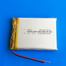 3.7V 1800mAh Batería Lipo Para Tablet PC DVD GPS de la cámara del teléfono celular Pad a mediados de 504760