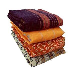 Wholesale Lot Of India Vintage Cotton Saree Women Wrap Cotton Saree Fabric