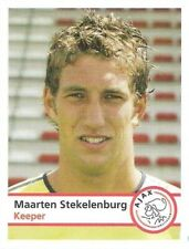 Plus 2005/2006 Panini Like sticker #18 Maarten Stekelenburg Ajax Amsterdam